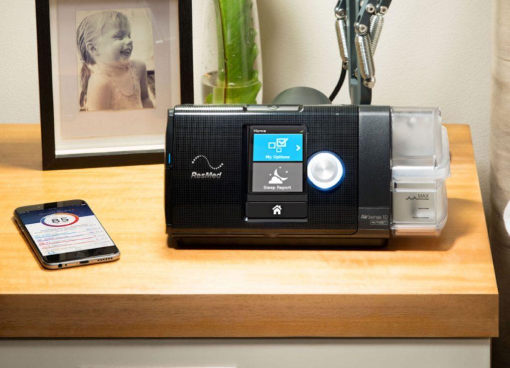 AirSense 10 Autoset device and myAir app